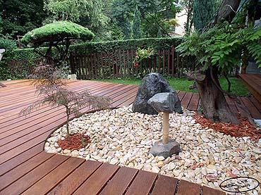 Idee per la sistemazione del giardino - Idee giardino senza erba ...